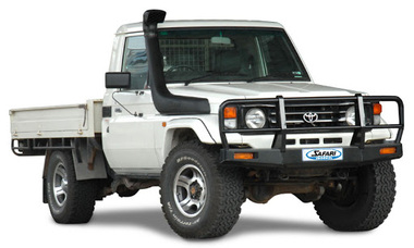 Шноркель SAFARI SS70HF для Toyota Land Cruiser 70-75   1999-2007