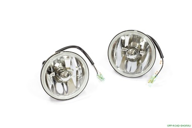 Фары в бампер ARB противотум. IPF 100mm FOG LIGHT KIT 55WATT