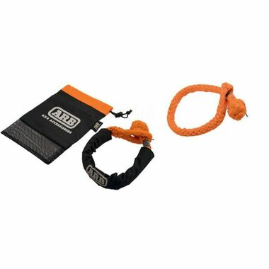 ARB SOFT CONNECT SHACKLE 14.5T|SOFT SHACKLE ORANGE 14.5T